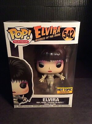 ELVIRA MUMMY Mistress of the Dark Pop Television Vinyl Figure 542 Hot Topic 2017