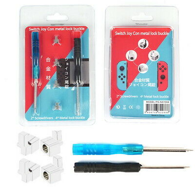 Metal Lock Buckles Repair Tool For Nintendo Switch NS Joy Con with Screwdrivers
