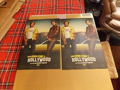 """Two Quentin Tarantino """"Once Upon A Time In Hollywood"""" Posters"""