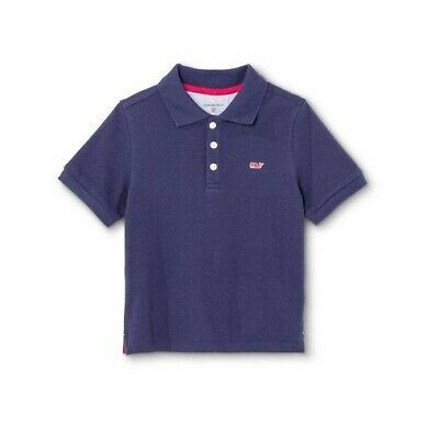 Vineyard Vines for Target Toddler Boys Navy Short Sleeve Polo Shirt Size 3T & 4T