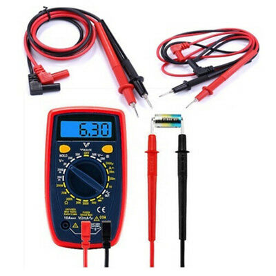 High Quality Universal Digital Multimeter Meter Test Lead Probe Wire Pen Cabl RD