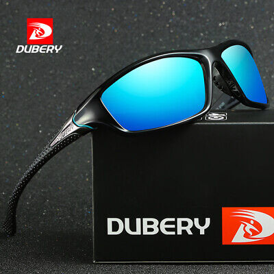 DUBERY Men Polarized Sunglasses Driving Fishing Eye Glasses UV400 Shades Eyewear