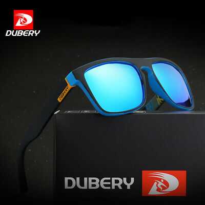 DUBERY Mens Womens Polarized Sunglasses Driving Fishing Eyewear Shades UV400 Hot