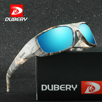 DUBERY Men Polarized Sunglasses Outdoor Driving Sports Eyewear Shades Cool UV400