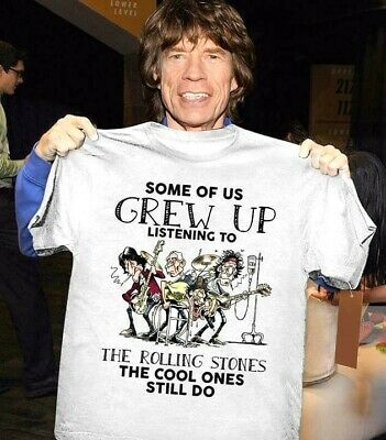 The Rolling Stones cool ones still listen to them - T-shirt