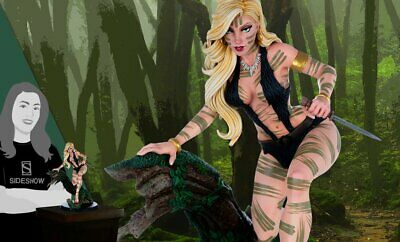 """Sideshow 10"""" Dynamite Entertainment Queen of the Jungle Sheena 9047203 Statue"""