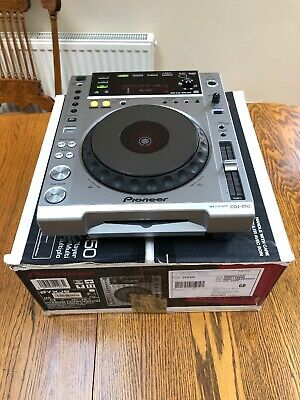 1 x Pioneer CDJ 850 CD/USB Deck Silver Great Condition!