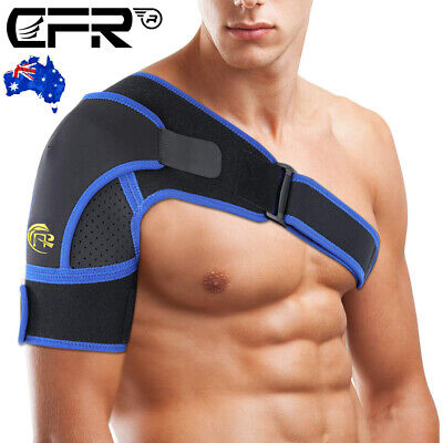 Adjustable Shoulder Brace Support Strap Compression Bandage Sports Arthritis CFR
