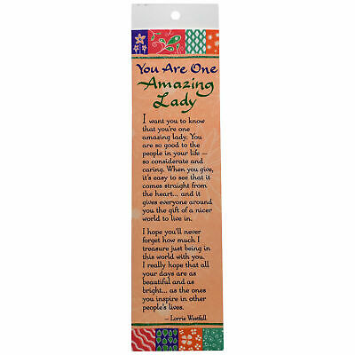 Blue Mountains Arts: An Amazing Lady Bookmark Bookend Gift