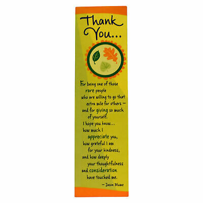 Blue Mountain Arts: Thank You Bookmark Bookend Gift Stationary