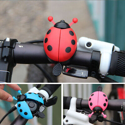 Bicycle Ladybug Bell Pink Tool Bike Alarm For Children Bell Ring Lovely Cute