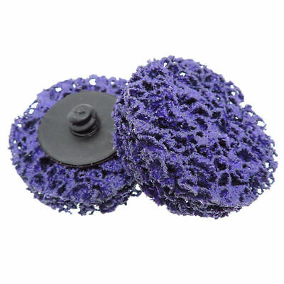 10pcs Set Sanding Wheels Disc Quick Change Abrasive Round Car Emery Sand Paper