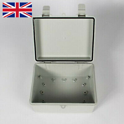 UK Water-proof Electronic Junction Box Enclosure Case Outdoor Terminal Cable 1x