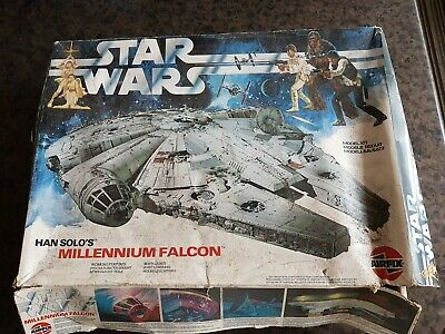 AIRFIX Star Wars Millenium Falcon Boxed 1982 with lights VERY RARE