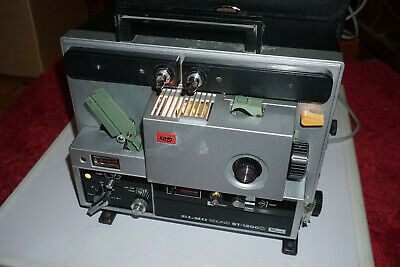 Elmo ST-1200D Super 8mm SOUND Movie Projector JAPAN