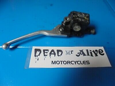 PIAGGIO / VESPA GT 125cc  (2009)     FRONT BRAKE MASTER CYLINDER AND LEVER