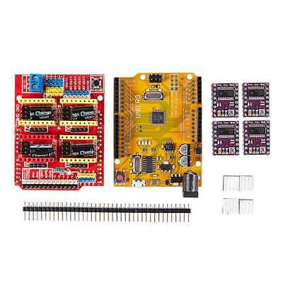CNC V3 Shield + UNO R3 for Arduino Compatible Board + 4x TI DRV8825 StepSti O2C7