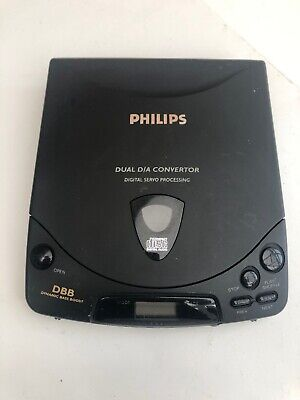 PHILIPS PORTABLE CD PLAYER AZ 6830 Tested Working : Good Condition