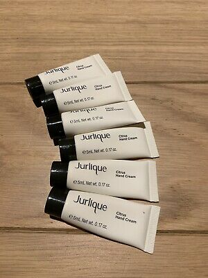 6 x 5ml Jurlique citrus hand cream samples travel size