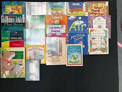 POETRY: Box of 21 Children's Educational Books