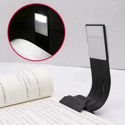 Super Magnetic USB Rechargeable LED Book Light Flexible Night Reading Clip T3W7