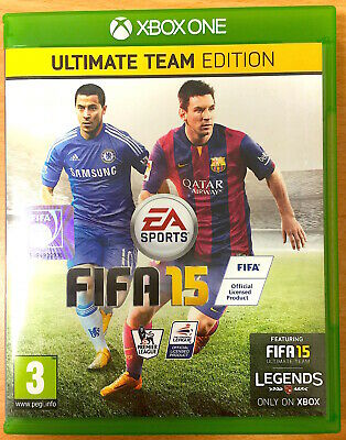 FIFA 15 - Ultimate Team Edition - Xbox One Games - Very Good Condition - 2015