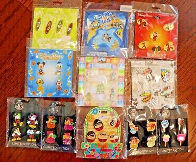 New Disney Trading Pin Set Booster Mixed Lot 5 Sets You Pick the Styles You Want