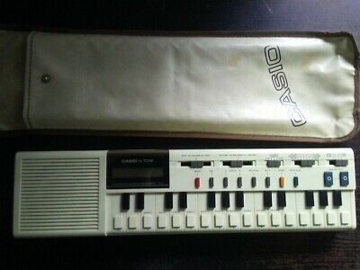 Vintage Casio VL-Tone VL1 Electronic Keyboard Synthesizer w/case