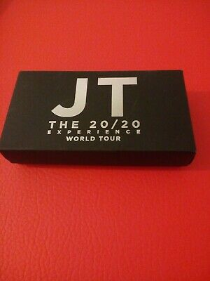 Justin Timberlake JT the 20/20 experience keyring pocket mirror limited edition