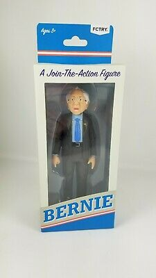 Bernie Sanders A Join The Action Figure 2016 FCTRY Feel the Bern!