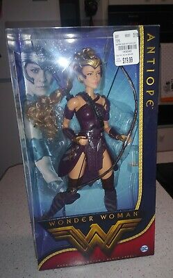 Barbie Wonder Woman Antiope DC Comics Doll Black Label Movie Mattel DWD84