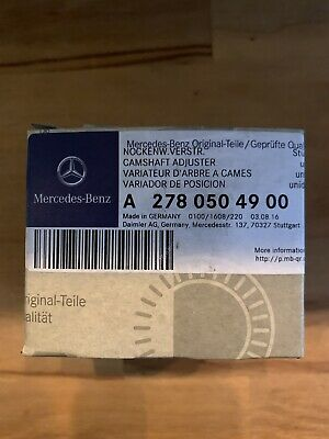 GENUINE MERCEDES-BENZ Intake Right Camshaft Adjuster For M278 V8 Engine