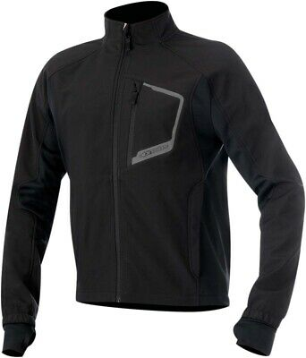 ALPINESTARS TECH Windproof Layering Jacket w/Thermal Lining (Black) S (Small)