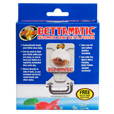 Zoo Med Bettamatic Automatic Daily Betta Feeder For Pets Daily Basis - 1 Feeder