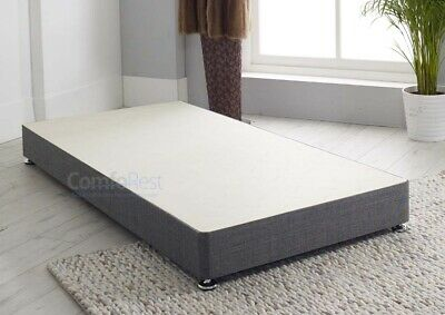 """Solid Low 8"""" Inches Reinforced Divan Base, heavy duty 3ft/4ft/4ft6/5ft/6ft,  UK"""