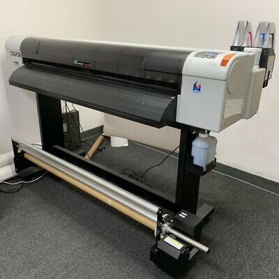 MUTOH VALUEJET 1324X Large Format Color Printer tops Roland HP by