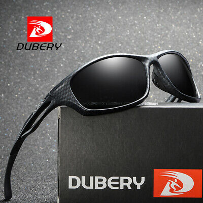 DUBERY Men Vintage Polarized Sunglasses Driving Shades Eyewear Holiday Sport