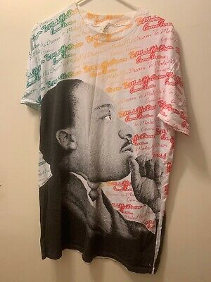 5e8dd6d972ba SS18 SUPREME MLK Martin Luther King Jr. Dream Tee Shirt White Size ...