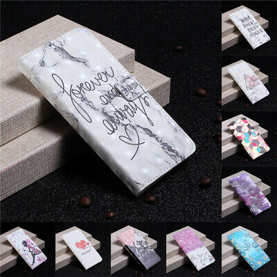 For Samsung Galaxy A3 A5 2017/A7 A8 A9 2018 Flip Leather Wallet Stand Case Cover