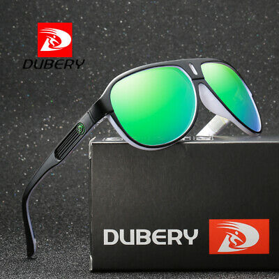 DUBERY Men Women Retro Vintage Polarized Sunglasses Driving Eyewear Shades UV400