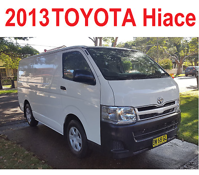 2013 Toyota Hiace LWB Excellent Condition 42170km Private Seller NSW 2140