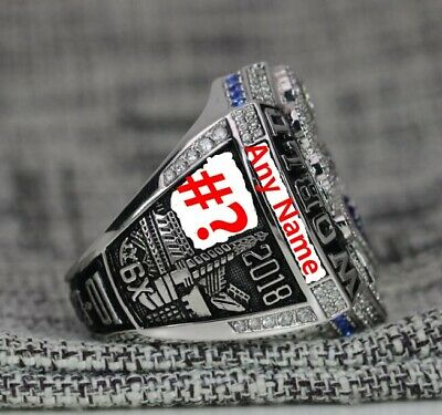 Custom Name & Number for 2018 2019 New England Patriots Championship ring Gift