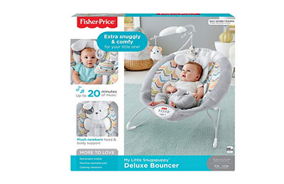 Snugapuppy Infant Chair Deluxe Bouncer Vibrate Chair Fisher Price