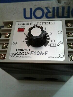 New OMRON K2CU-F10A-F HEATER FAULT DETECTOR IN BOX. *BEST PRICE! NEW IN BOX.