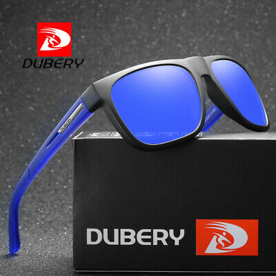 DUBERY Mens Vintage Polarized Sunglasses Driving Eyewear Shades Outdoor Fashion