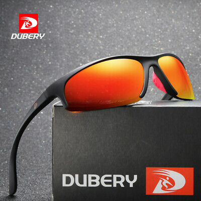 DUBERY Men Women Polarized Sunglasses Driving Riding Sport Shades Eyewear UV400