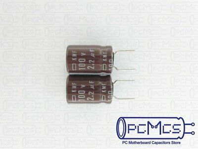 10pack 47uf 100v 105°C KMF Nippon Chemi-Con Quality Electrolytic Capacitors NEW