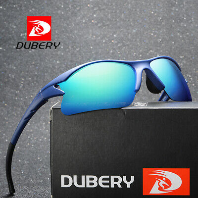 DUBERY Mens Womens Vinatge Polarized Sunglasses Driving Riding Eyewear Shades