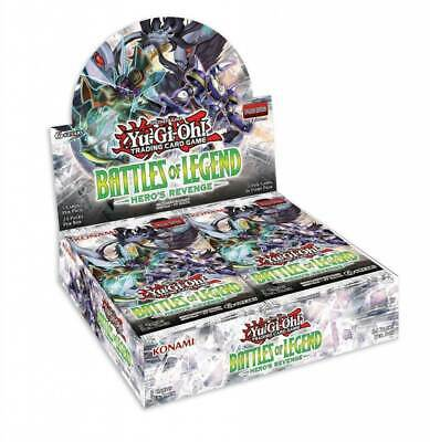 Battles of Legend: Hero's Revenge Booster Box Free Shipping