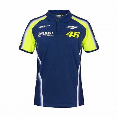 Valentino ROSSI VR46 2018 Moto GP Short Sleeve YAMAHA Polo shirt - Mens